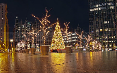 PPG Christmas Tree Panoramic